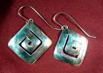 Square Maze Earrings